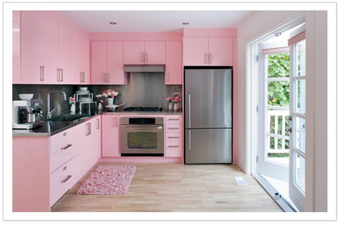 Best ideas about Pink Kitchen Decor . Save or Pin Atomic Pink Vintage Kitchen Retro Inspiration Board At Now.