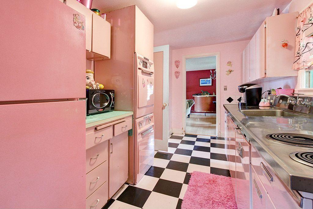 Best ideas about Pink Kitchen Decor . Save or Pin Interior design trends 2017 Pink kitchen – HOUSE INTERIOR Now.