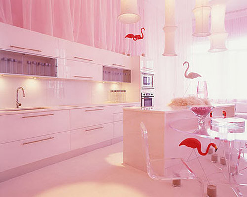 Best ideas about Pink Kitchen Decor . Save or Pin make your life colorful PINK KITCHEN CUTE Now.