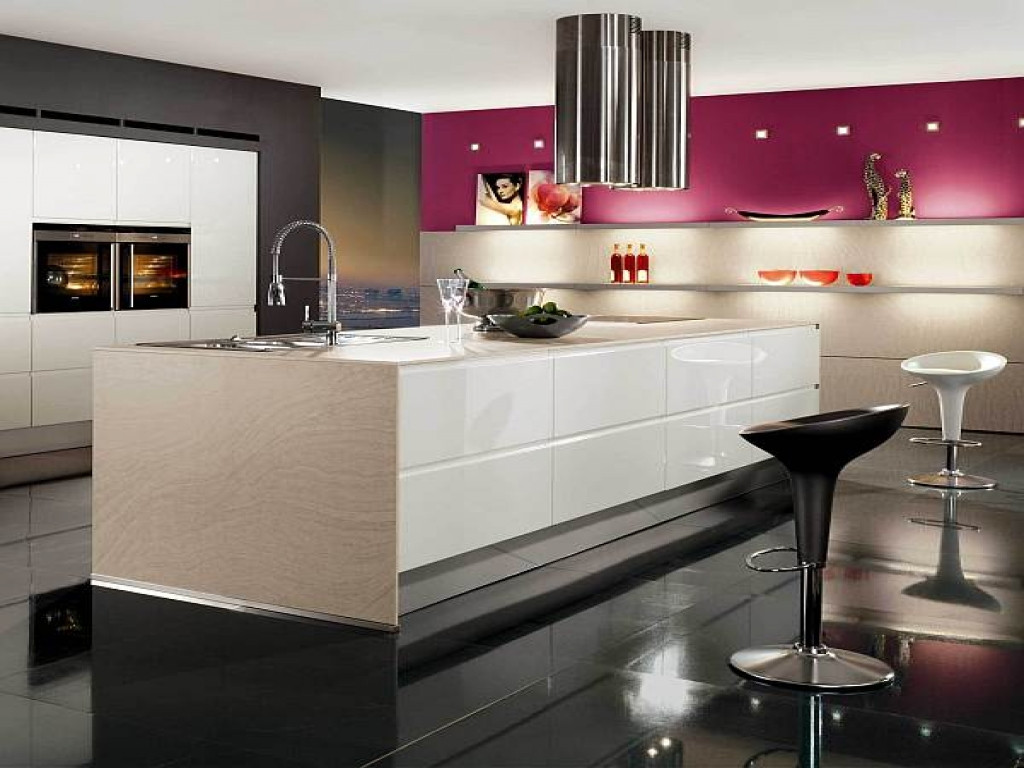 Best ideas about Pink Kitchen Decor . Save or Pin Black White And Pink Kitchen Decor Decoist Ideas Now.