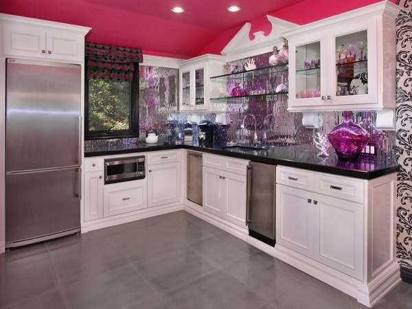 Best ideas about Pink Kitchen Decor . Save or Pin Pink Kitchen Designs Decorating Ideas s Now.