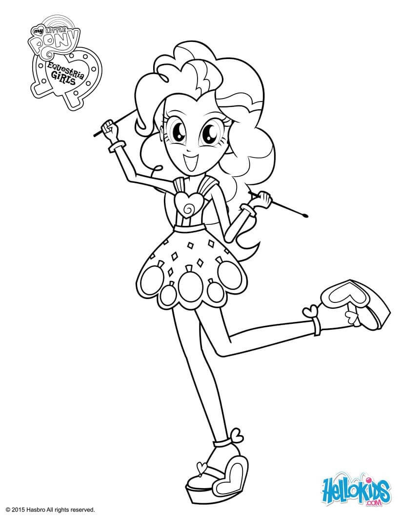 Best ideas about Pinky Pie Coloring Pages For Girls . Save or Pin My Little Pony Equestria Girls Coloring Pages Now.
