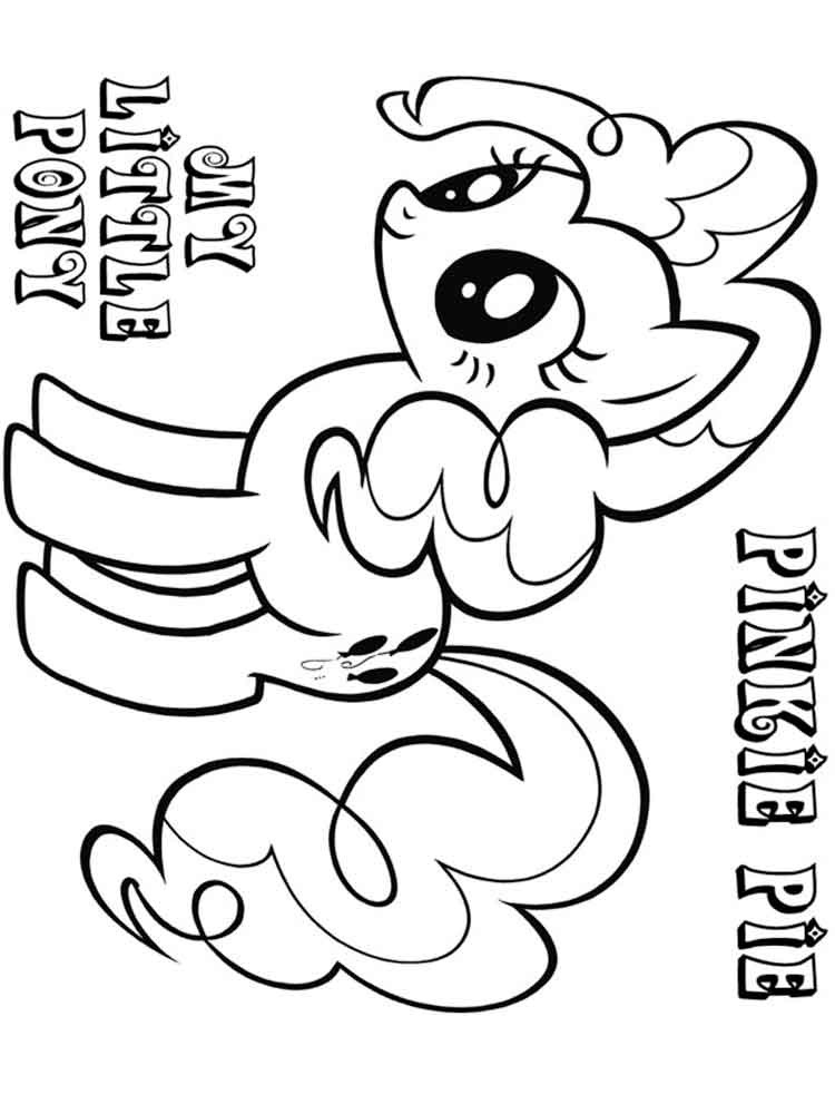 Best ideas about Pinky Pie Coloring Pages For Girls . Save or Pin Pinkie Pie coloring pages Free Printable Pinkie Pie Now.