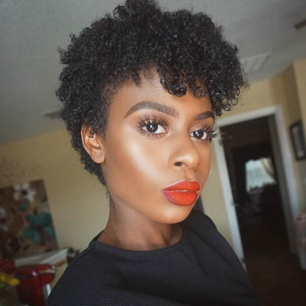 Best ideas about Pixie Cut On Natural Black Hair . Save or Pin 51 Best Short Natural Hairstyles for Black Women – StayGlam Now.