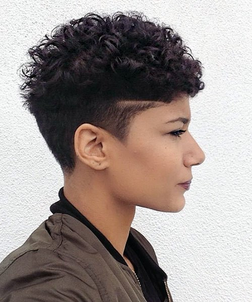 Best ideas about Pixie Cut On Natural Black Hair . Save or Pin 20 Trendy African American Pixie Cuts 2019 Pixie Cuts Now.