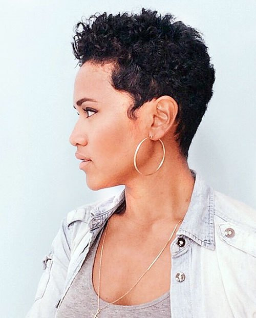 Best ideas about Pixie Cut On Natural Black Hair . Save or Pin 20 Sassy and y Black Pixie Cuts Now.