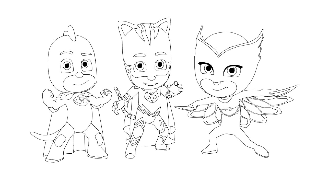 Best ideas about Pj Masks Coloring Sheet . Save or Pin PJ Masks Coloring Pages Best Coloring Pages For Kids Now.