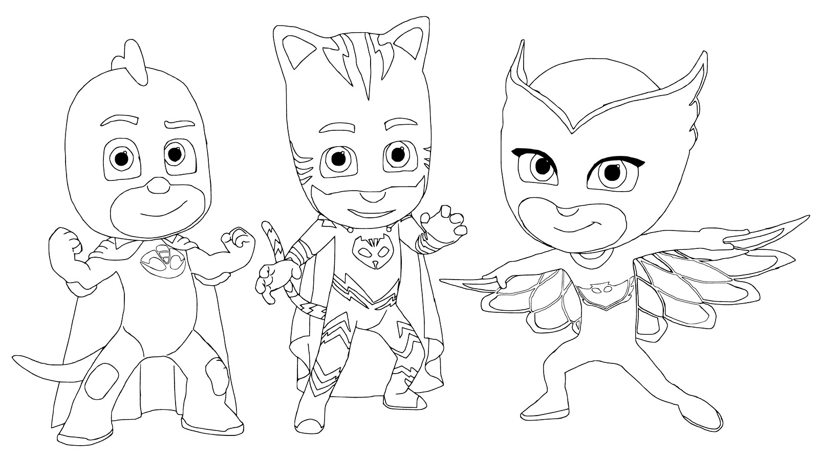 Best ideas about Pj Masks Coloring Sheet . Save or Pin Top 10 PJ Masks Coloring Pages 2017 Now.