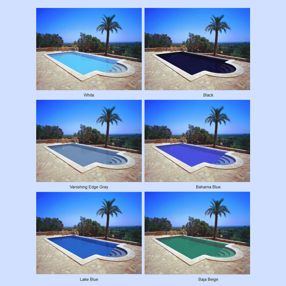 Best ideas about Pool Paint Colors . Save or Pin Nelsonite SPEEDCOTE 2000 Lake Blue Swimming Pool Paint 43 Now.