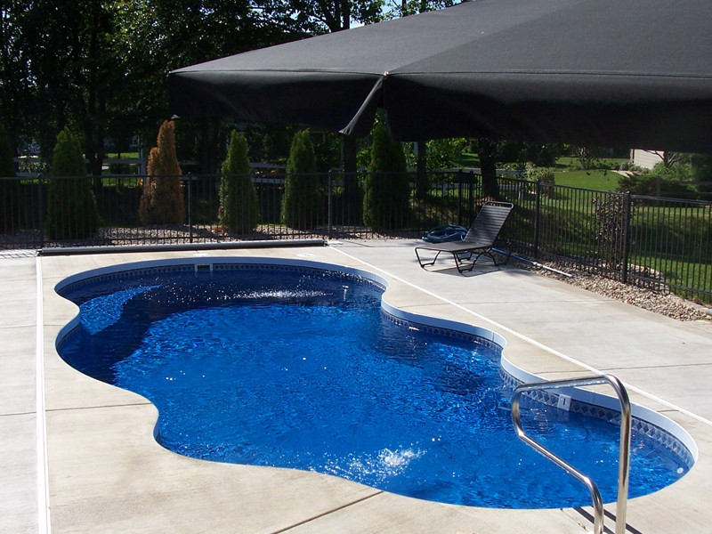 Best ideas about Pool Paint Colors . Save or Pin Fiberglass Swimming Pool Paint Color Finish Maya 2 Calm Now.