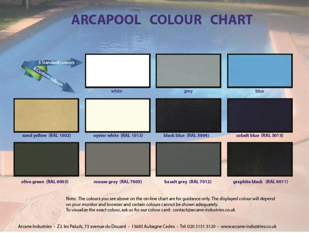 Best ideas about Pool Paint Colors . Save or Pin Swimming pool paint ARCAPOOL Waterproofing from basement Now.