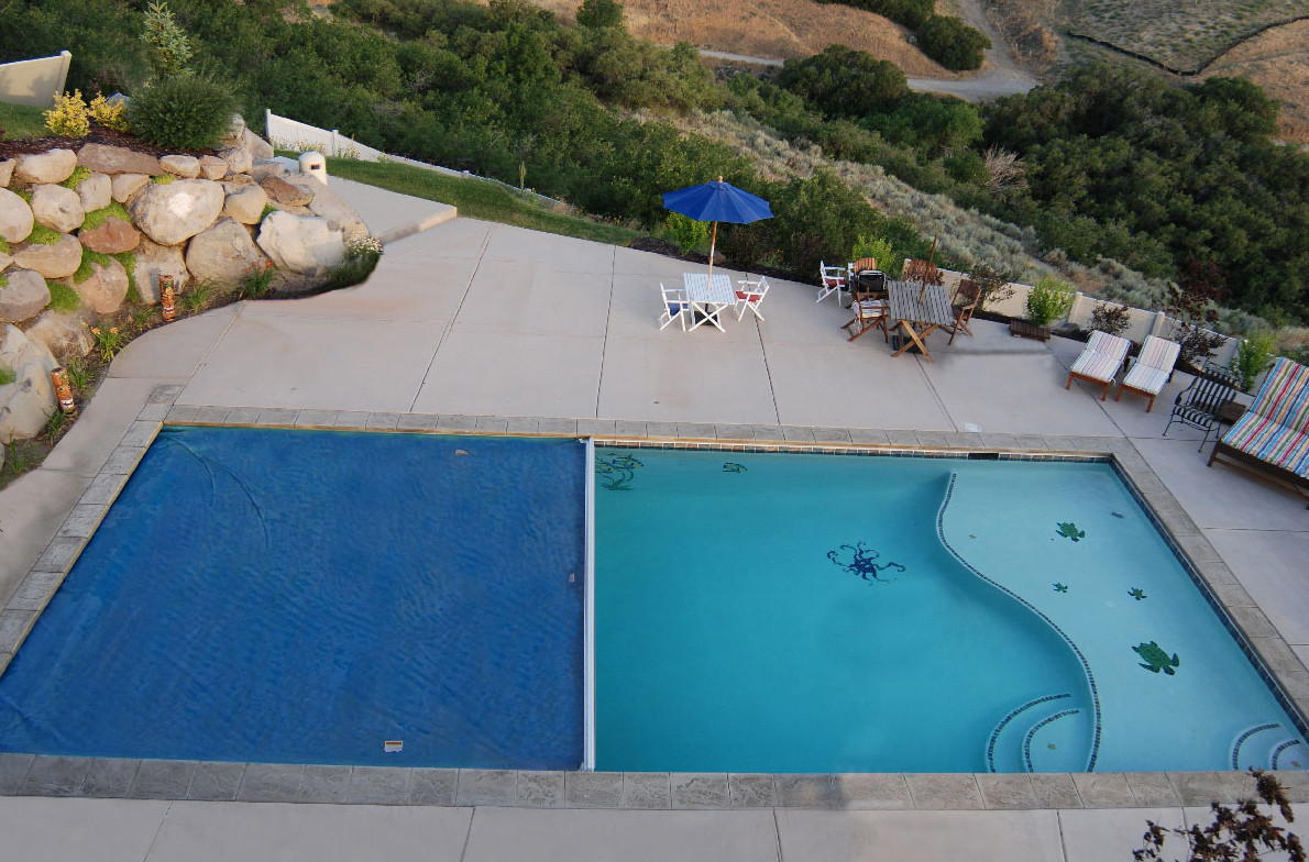 Best ideas about Pool Paint Colors . Save or Pin LUXAPOOL Epoxy Pool Coating Fibreglass Pools Now.
