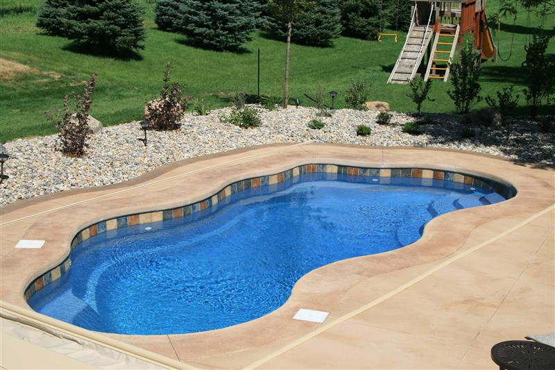 Best ideas about Pool Paint Colors . Save or Pin Fiberglass Swimming Pool Paint Color Finish Pacific Blue 2 Now.