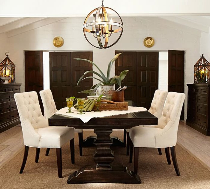 Best ideas about Pottery Barn Dining Room . Save or Pin 11 Most Elegant Chandelier Designs by Potterybarn Now.
