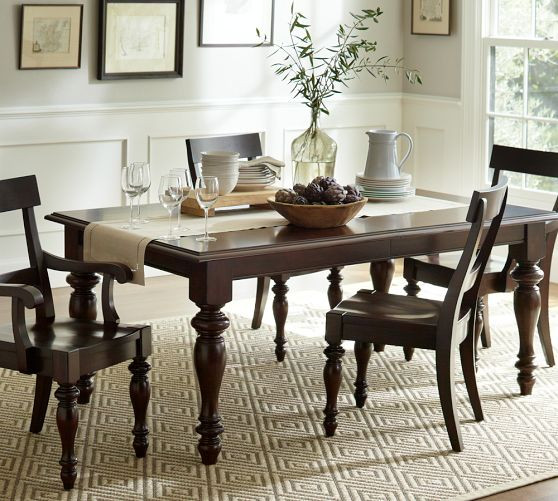 Best ideas about Pottery Barn Dining Room . Save or Pin Dining Room Table Pottery Barn Now.