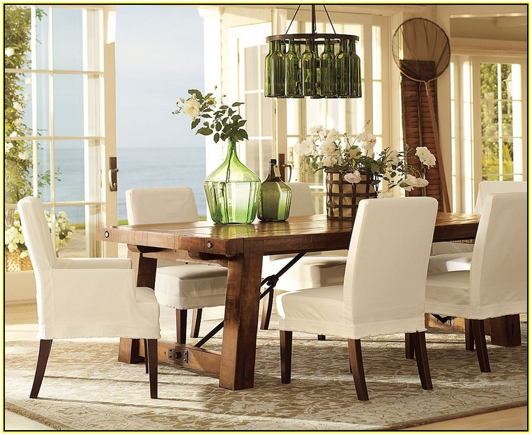 Best ideas about Pottery Barn Dining Room . Save or Pin Pottery Barn Slipcovers Dining Room Chairs Now.