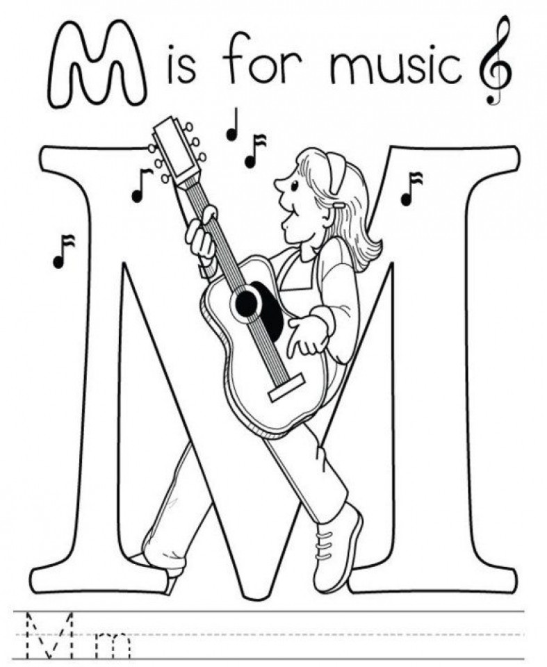 Best ideas about Printable Coloring Pages Music . Save or Pin 20 Free Printable Music Coloring Pages EverFreeColoring Now.
