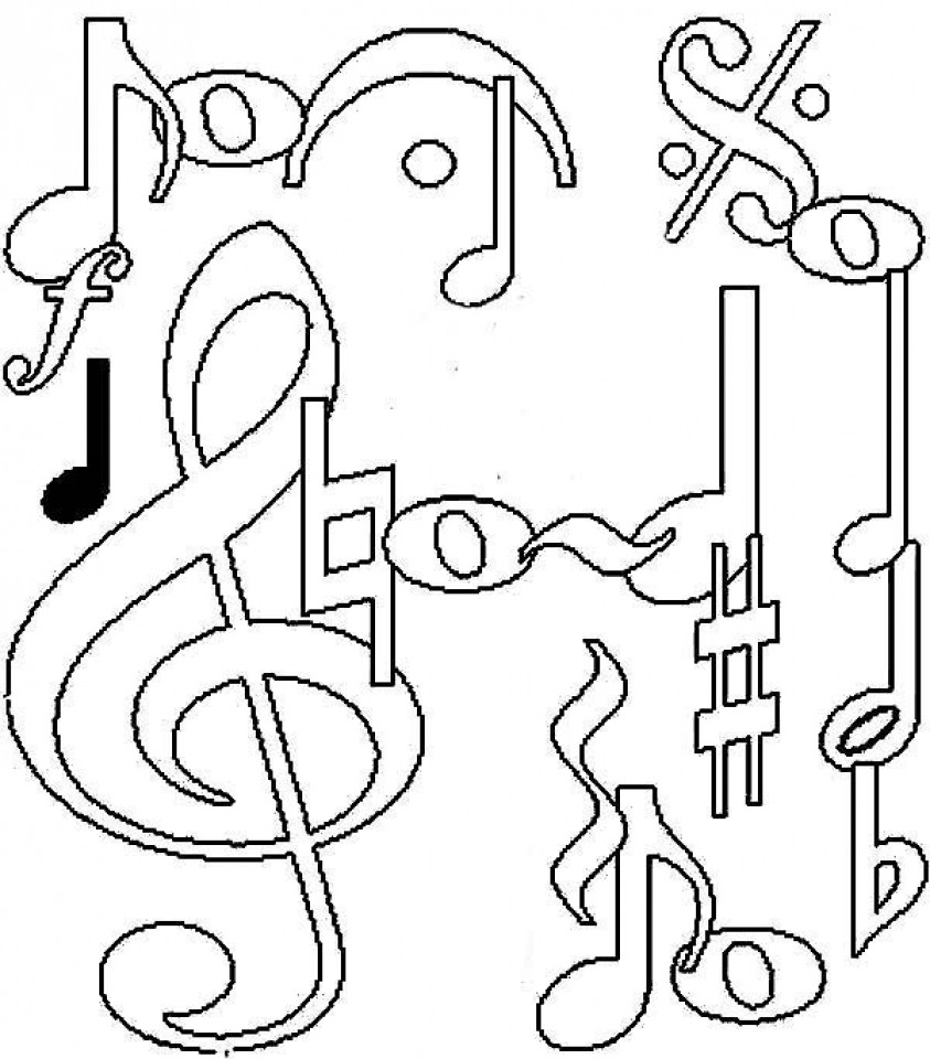 Best ideas about Printable Coloring Pages Music . Save or Pin Get This Printable Music Coloring Pages for Kindergarten Now.