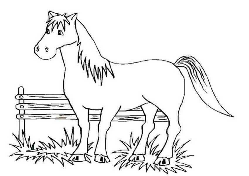 Best ideas about Printable Coloring Sheets Horses Free . Save or Pin Free Printable Horse Coloring Pages For Kids Now.