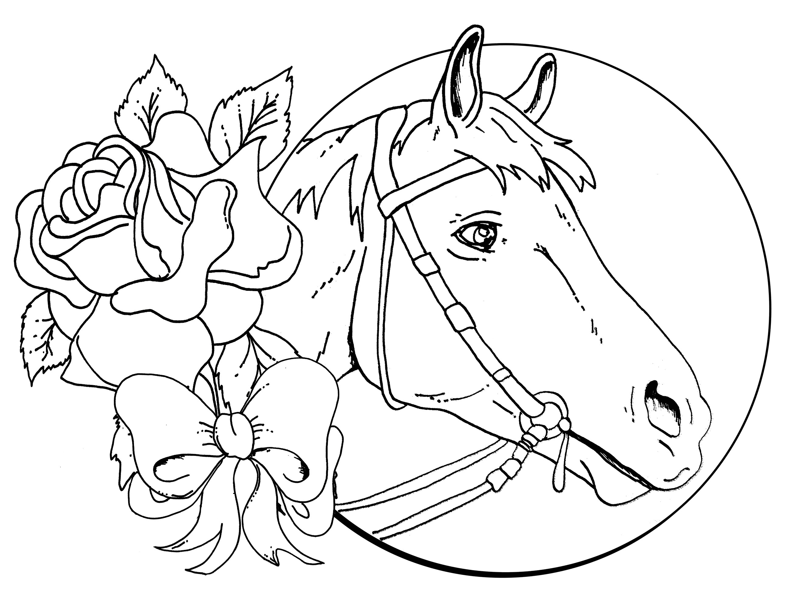 Best ideas about Printable Horse Coloring Pages For Girls . Save or Pin free printable coloring pages for girls 2015 Now.