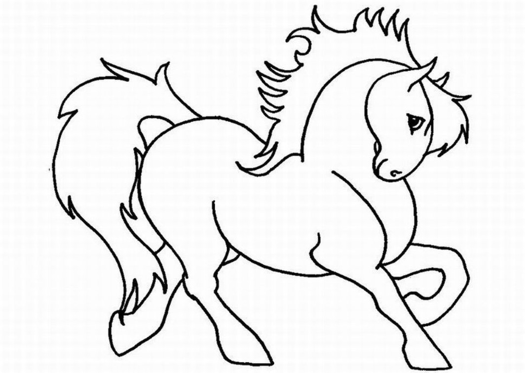 Best ideas about Printable Horse Coloring Pages For Girls . Save or Pin Horse Coloring pages for Girls Free Printable Coloring Now.