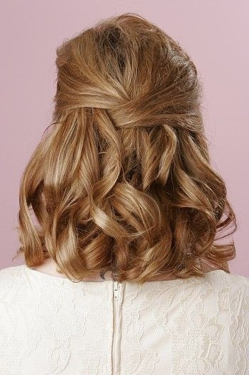 Best ideas about Prom Hairstyle Medium Hair . Save or Pin 15 Pretty Prom Hairstyles 2019 Boho Retro Edgy Hair Now.