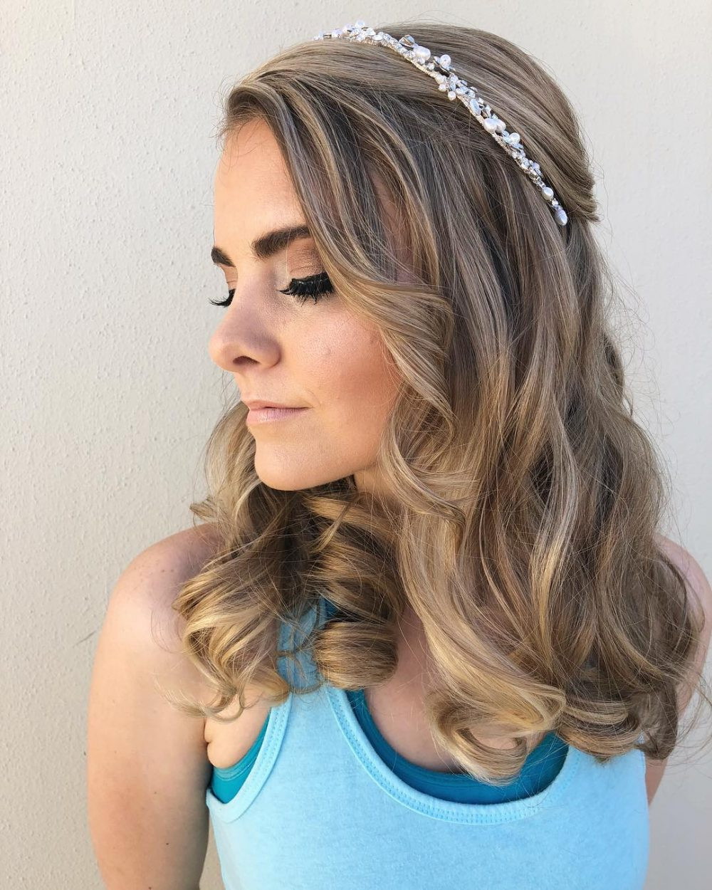 Best ideas about Prom Hairstyle Medium Hair . Save or Pin Prom Hairstyles for Medium Length Hair and How To s Now.