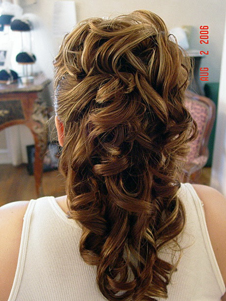 Best ideas about Prom Hairstyles Half Updo . Save or Pin Prom hairstyles half updos Now.