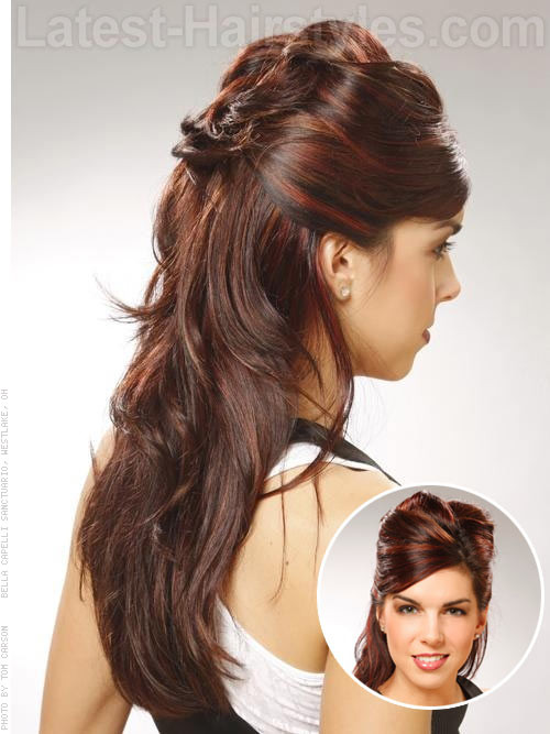 Best ideas about Prom Hairstyles Half Updo . Save or Pin Half Up Half Down Prom Hairstyles and How To s Now.