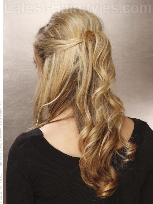 Best ideas about Prom Hairstyles Half Updo . Save or Pin 20 Gorgeous Formal Half Updos You ll Fall In Love With Now.