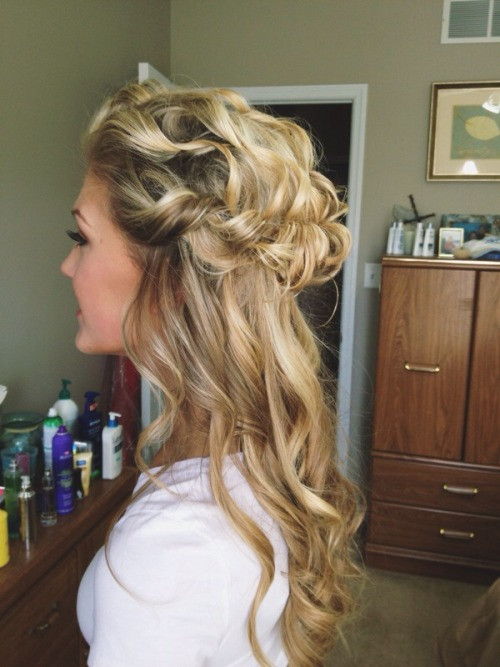 Best ideas about Prom Hairstyles Tumblr . Save or Pin prom hair on Tumblr Now.