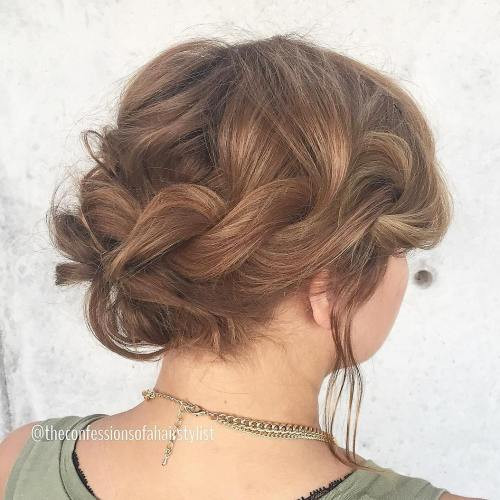 Best ideas about Prom Short Hairstyle . Save or Pin 50 Hottest Prom Hairstyles for Short Hair Now.