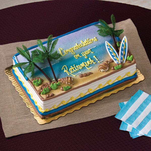 Best ideas about Publix Birthday Cake Designs . Save or Pin Beach cake Publix Now.