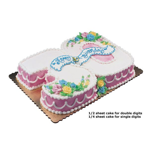 Best ideas about Publix Birthday Cake Designs . Save or Pin Cut Out Numbers via Publix Now.