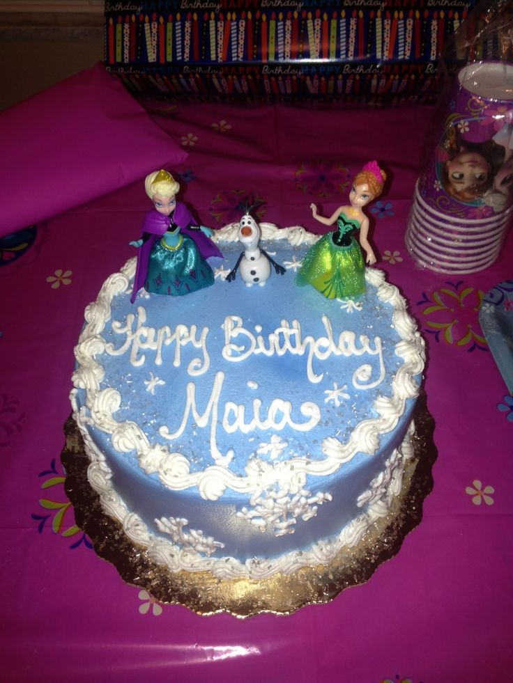 Best ideas about Publix Birthday Cake Designs . Save or Pin Disney s Frozen cake Designed it myself and Publix Now.