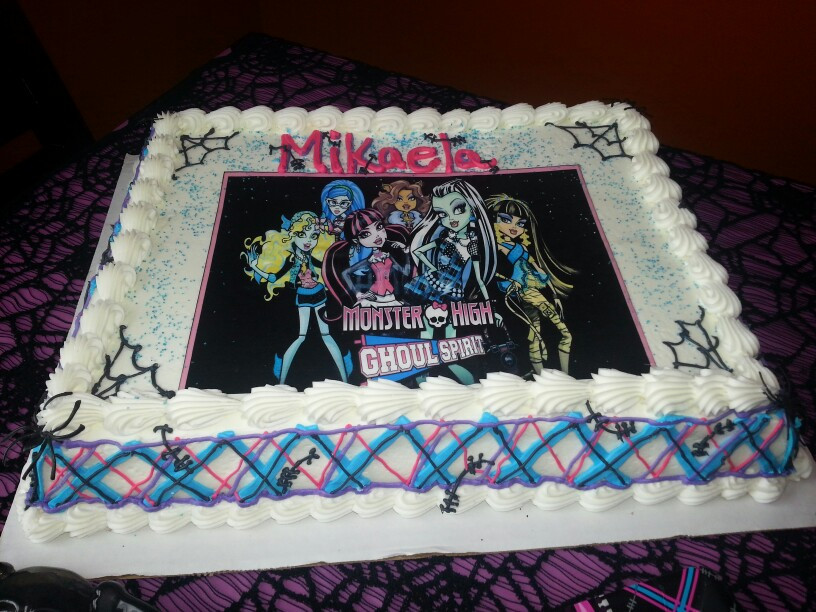 Best ideas about Publix Birthday Cake Designs . Save or Pin Monster High Birthday Cake Publix — CRIOLLA Brithday Now.