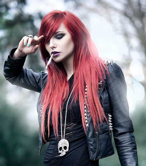 Best ideas about Punk Girls Haircuts . Save or Pin Punk Hairstyles Long Hair Now.