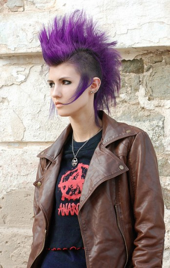Best ideas about Punk Girls Haircuts . Save or Pin Punk Rock Hairstyles Now.