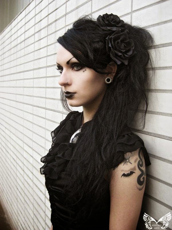 Best ideas about Punk Girls Haircuts . Save or Pin Gothic hairstyles The HairCut Web Now.