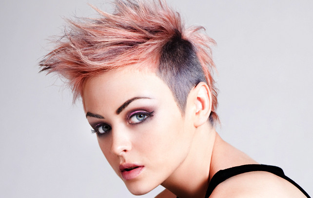Best ideas about Punk Girls Haircuts . Save or Pin Top 20 Unique Punk Hairstyles For Short Hair Now.