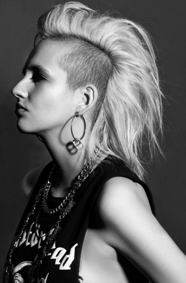 Best ideas about Punk Girls Haircuts . Save or Pin Feminine Mohawk Hairstyles Now.