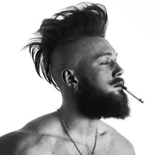 Best ideas about Punk Haircuts Male . Save or Pin 21 Punk Hairstyles For Guys Now.