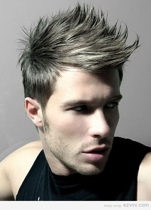 Best ideas about Punk Haircuts Male . Save or Pin Top 6 Faux Hawk Fade Hairstyles for Men Now.