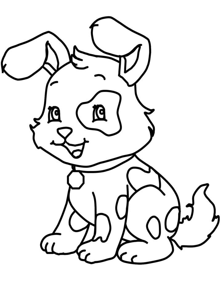 Best ideas about Puppy Coloring Sheets For Girls . Save or Pin Puppy Coloring Pages For Girls AZ Coloring Pages Now.