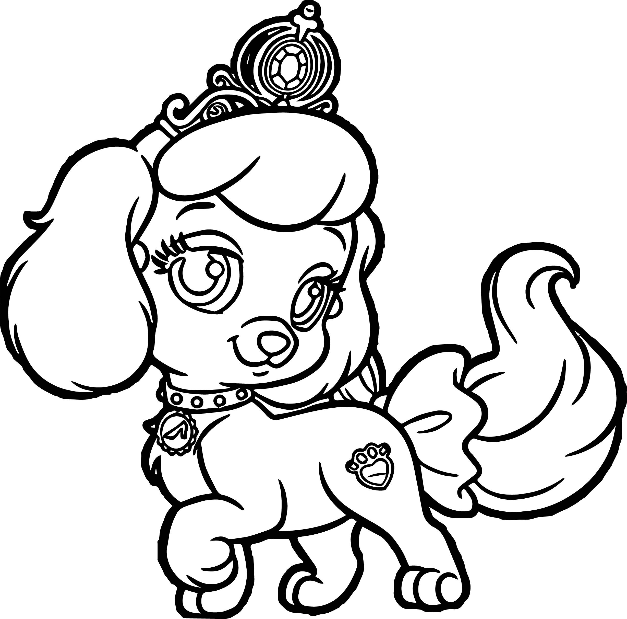 Best ideas about Puppy Coloring Sheets For Girls . Save or Pin Girl Pumpkin Pup Puppy Dog Coloring Page Now.