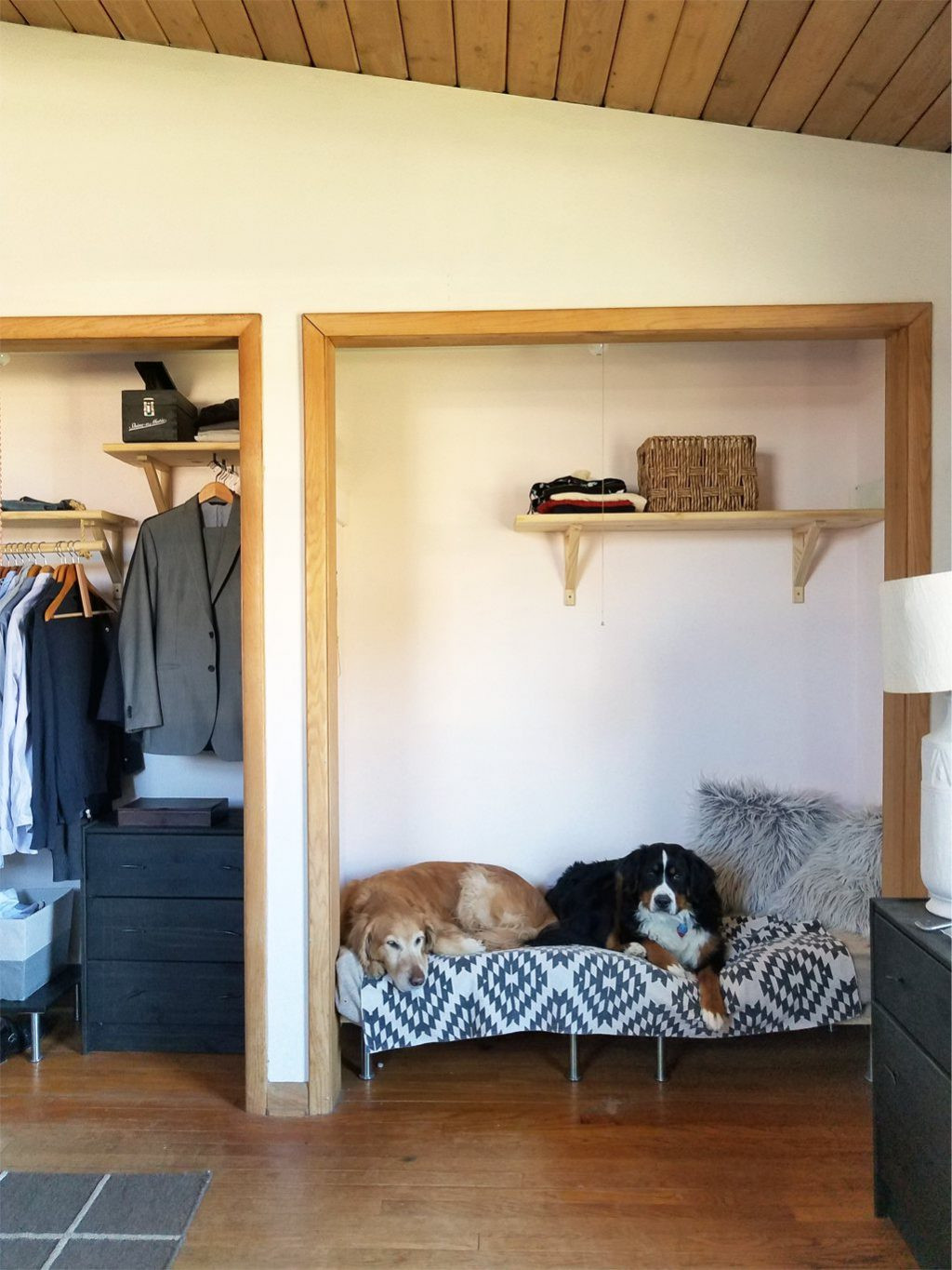 Best ideas about Raised Dog Beds DIY . Save or Pin DIY raised dog bed from MDF and inexpensive legs from IKEA Now.