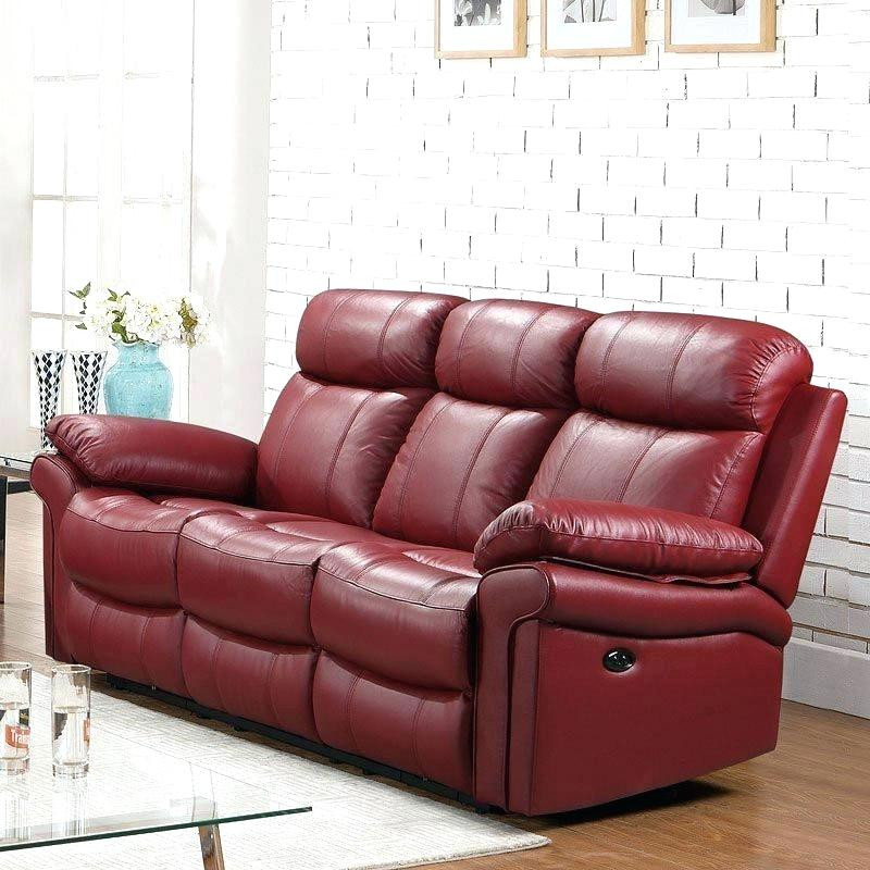 Best ideas about Red Recliner Sofa . Save or Pin Red Leather Recliner Sofa Uk Now.