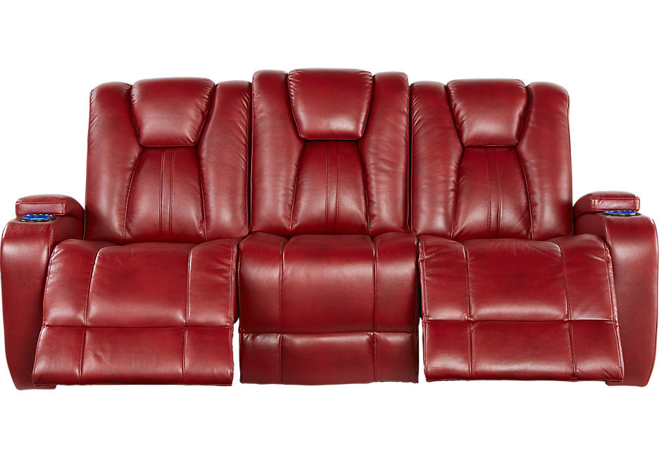 Best ideas about Red Recliner Sofa . Save or Pin Kingvale Red Power Reclining Sofa Sofas Red Now.