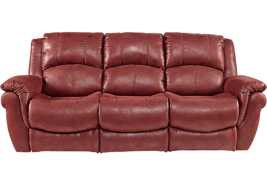 Best ideas about Red Recliner Sofa . Save or Pin Red Recliner Sofa Talbot Modern Red Leather Recliner Sofa Now.