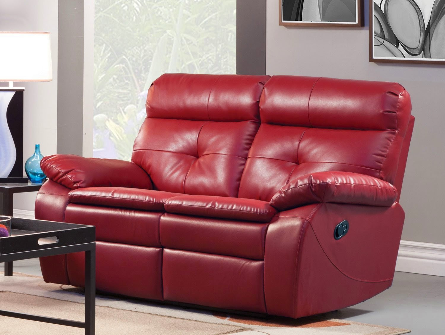 Best ideas about Red Recliner Sofa . Save or Pin The Best Reclining Sofa Reviews Red Leather Reclining Now.